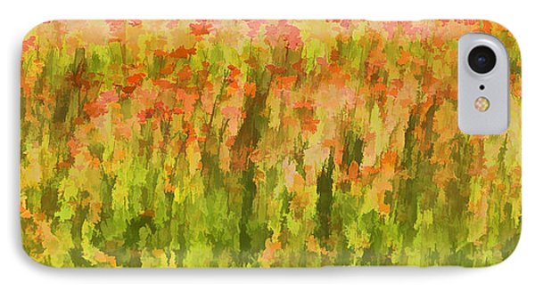 Poppies Of Tuscany IIi Phone Case by David Letts