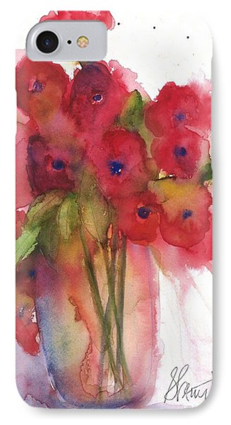 Poppies Phone Case by Sherry Harradence
