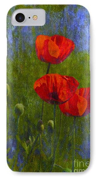 Poppies IPhone Case by Veikko Suikkanen
