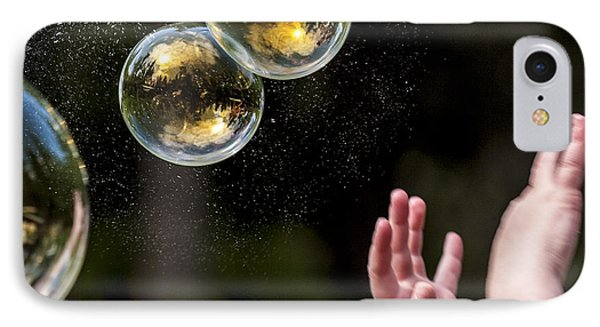 Poppin Bubbles Phone Case by Darcy Michaelchuk