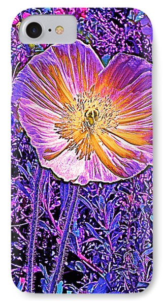 IPhone Case featuring the photograph Poppy 3 by Pamela Cooper