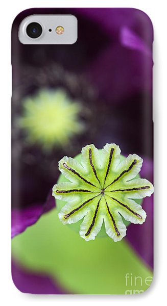 Poppy Abstract Phone Case by Tim Gainey