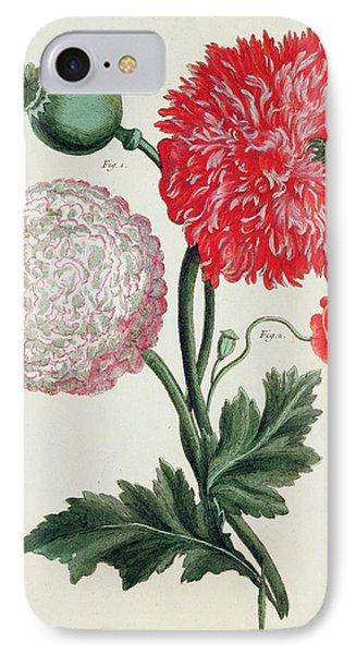 Poppy Phone Case by Basilius Besler