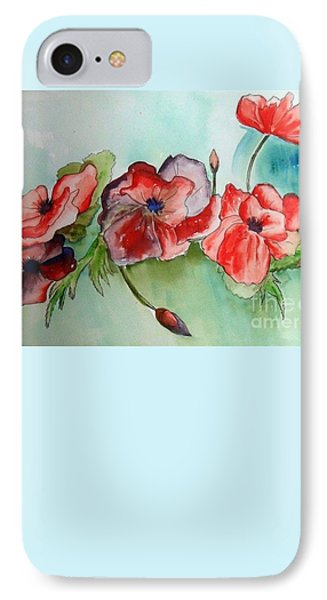 Poppy Bouquet IPhone Case