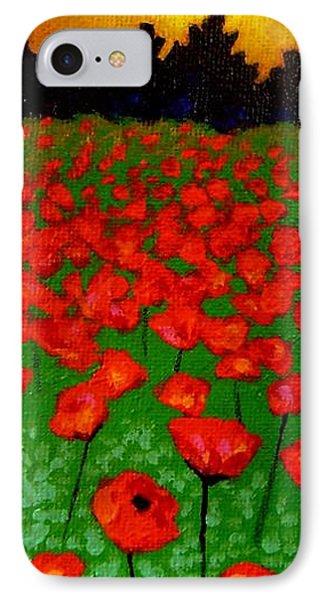 Poppy Carpet  Phone Case by John  Nolan