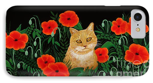 Poppy Cat IPhone Case