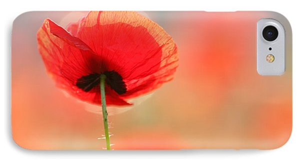 Poppy Dream IPhone Case by Roeselien Raimond