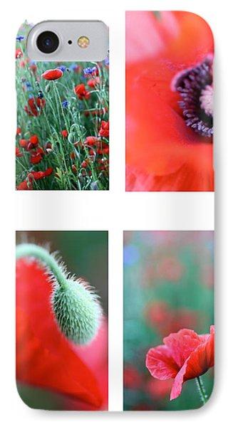 Poppy Field 1 Phone Case by AR Annahita
