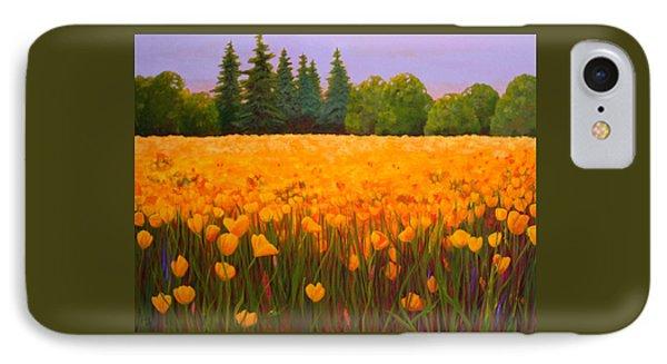 Poppy Fields Forever IPhone Case by Nancy Jolley