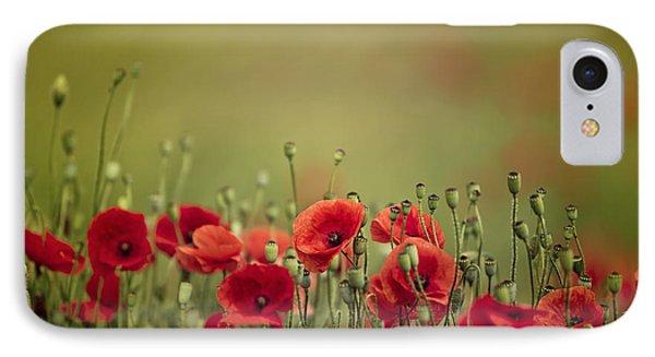 Poppy Meadow IPhone Case by Nailia Schwarz