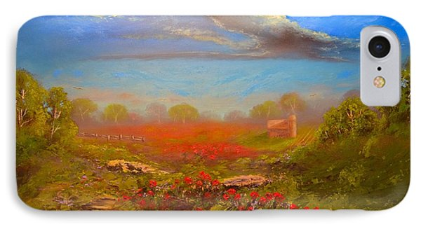 Poppy Morning IPhone Case