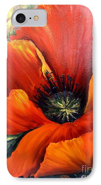 Poppy Red IPhone Case