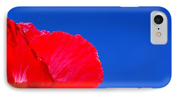 IPhone Case featuring the photograph Poppy Sky by Baggieoldboy
