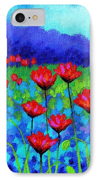 Poppy Study IPhone Case by John  Nolan