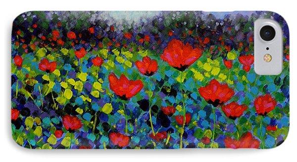 Poppy Vista IPhone Case by John  Nolan