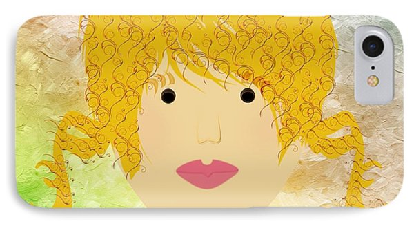 Porcelain Doll 47 IPhone Case