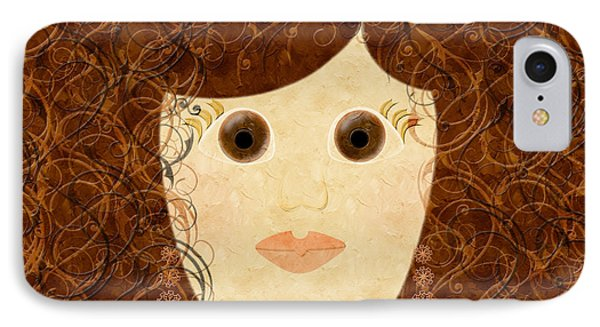 Porcelain Doll Painterly IPhone Case