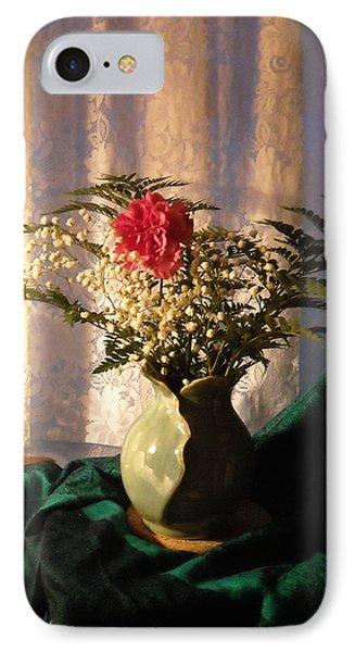 Porcelain Petal Vase 4 In Still Life IPhone Case