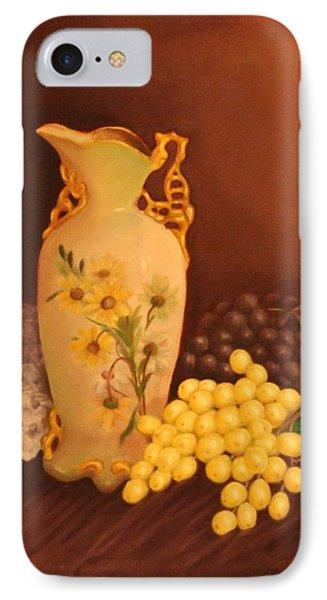 Porcelain Vase Phone Case by Lou Magoncia