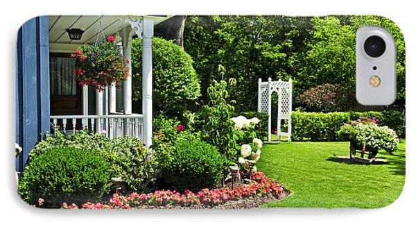 Porch And Garden Phone Case by Elena Elisseeva