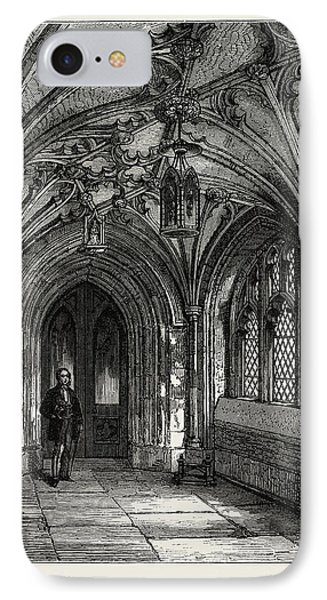 Porch Of St. Sepulchres Church IPhone Case