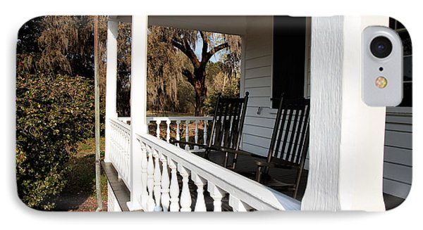 Porch View Phone Case by John Rizzuto