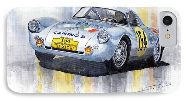 Porsche 550 Coupe 154 Carrera Panamericana 1953 IPhone Case