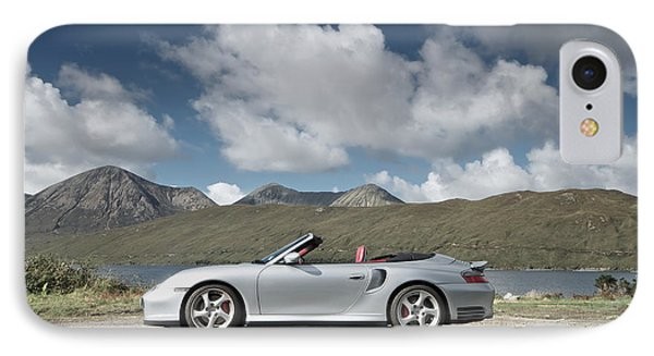 Porsche 911 - 996 Turbo IPhone Case by Stephen Taylor