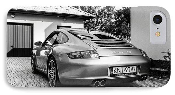 Porsche 911 Carrera 4s IPhone Case