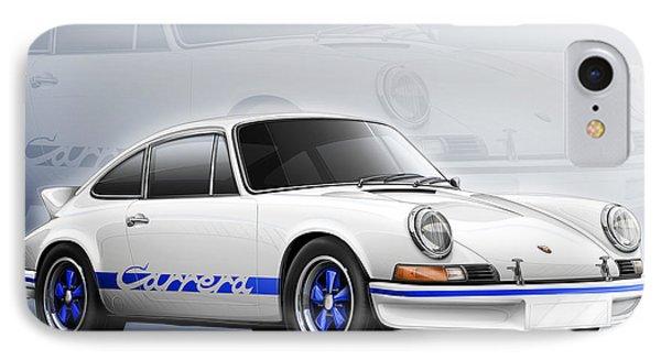 Porsche 911 Rs 1973 IPhone Case