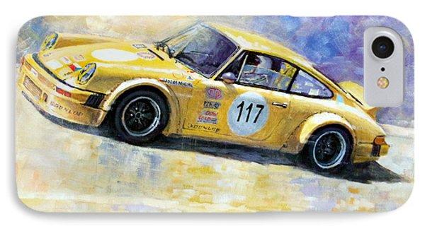 Porsche 911 S Typ G Josef Michl IPhone Case by Yuriy Shevchuk