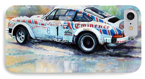 Porsche 911 Sc  Rallye Sanremo 1981 IPhone Case