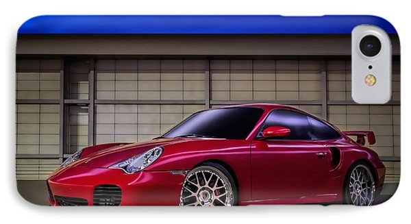 Porsche 911 Twin Turbo IPhone Case by Douglas Pittman