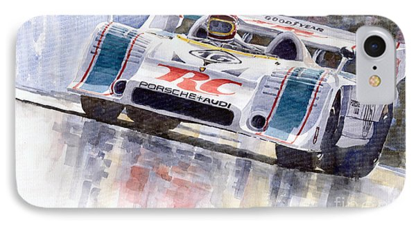 Porsche 917 10 Rc Cola Team Follmer IPhone Case by Yuriy  Shevchuk