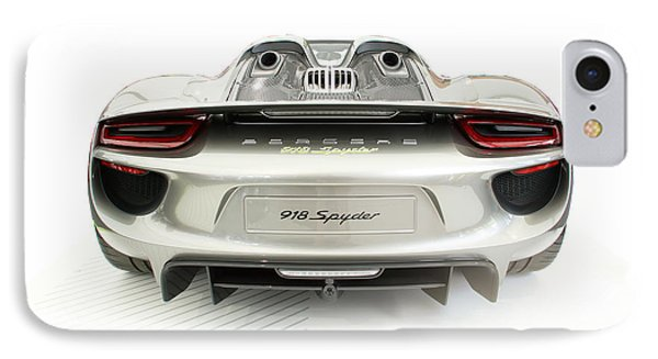 Porsche 918 Spyder IPhone Case by Roger Lighterness