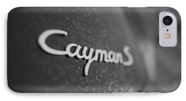 Standing Porsche Cayman S IPhone Case