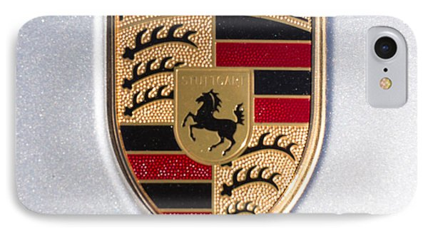 Porsche Emblem 911 IPhone Case by Robert Loe