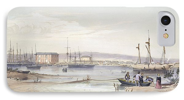 Port Adelaide From South Australia IPhone Case by George French Angas