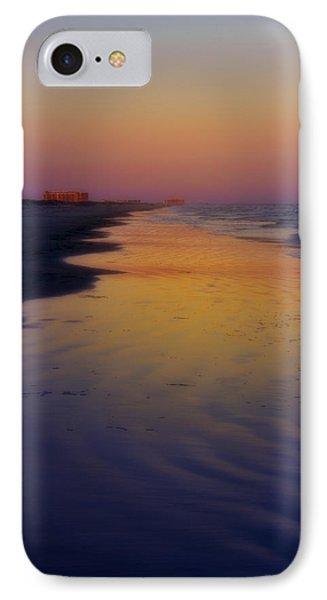 IPhone Case featuring the photograph Port Aransas Sunset by Ellen Heaverlo