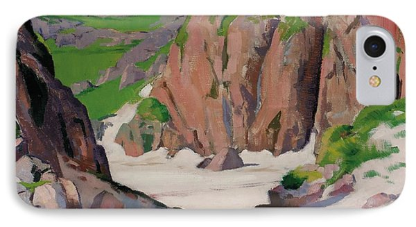Port Bhan  Iona IPhone Case by Francis Campbell Boileau Cadell