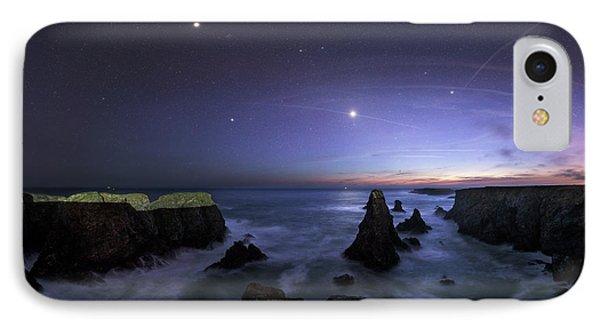 Port Coton Needles At Dusk IPhone Case by Laurent Laveder
