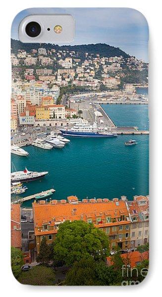 Port Du Nice Phone Case by Inge Johnsson