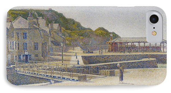 Port En Bessin Phone Case by Georges Pierre Seurat