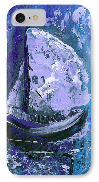 Port In The Storm Phone Case by Donna Blackhall