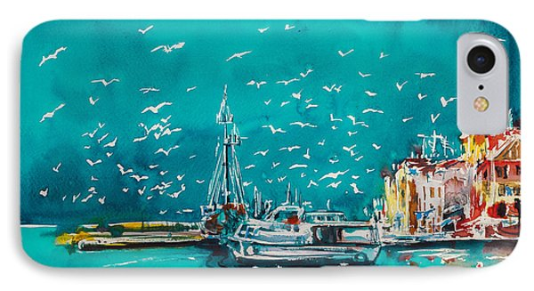 Port IPhone Case by Kovacs Anna Brigitta