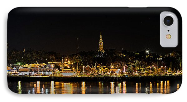 Port Lights IPhone Case by James  Meyer