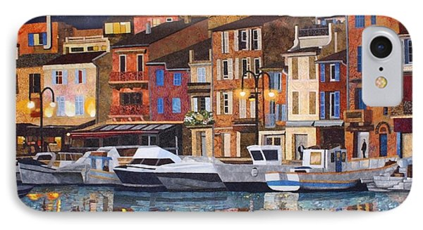 Port Of Cassis Phone Case by Lenore Crawford