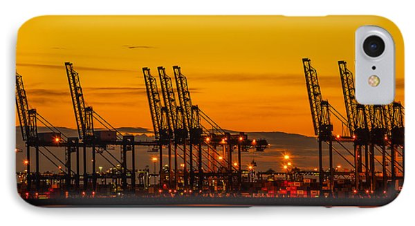 Port Of Felixstowe Phone Case by Svetlana Sewell