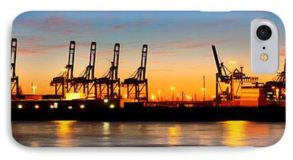 Port Of Hamburg Panorama IPhone Case