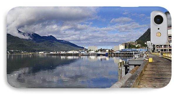 Port Of Juneau Phone Case by Cathy Mahnke